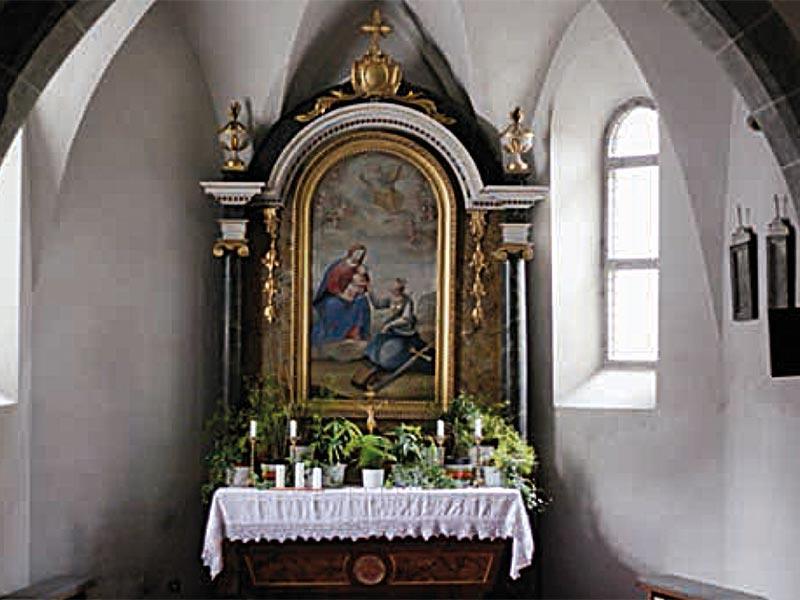 Mühlen in Taufers - Kirche zur hl. Katharina & Hl. Florian