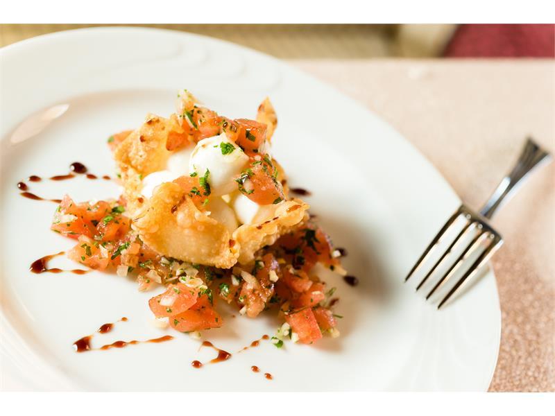 Gourmet half-board lovingly prepared by Mr. Villgrattner