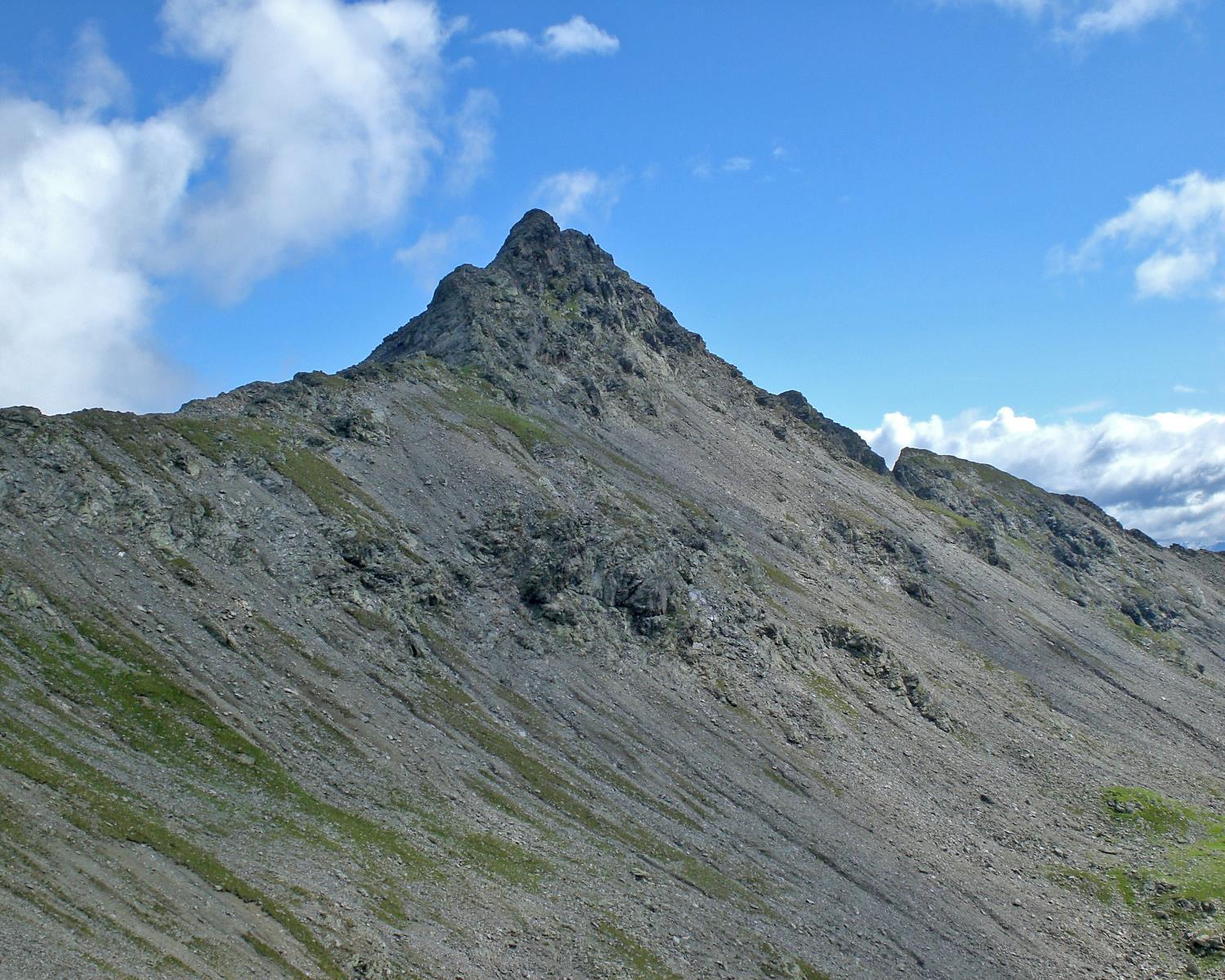 From the Penserjoch pass to the Tagewaldhorn