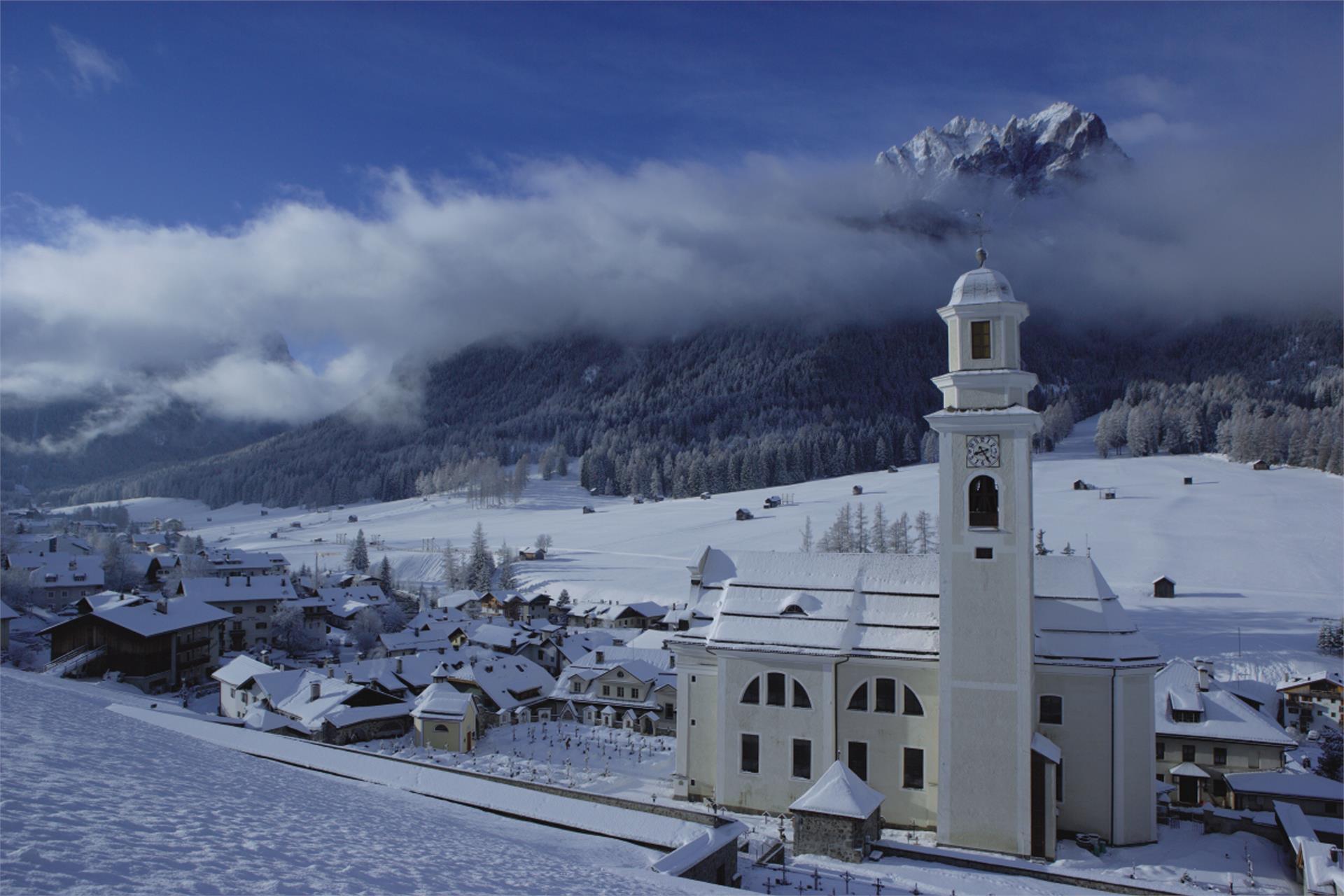 Winter hiking - From Sexten/Sesto at Innichen/San Candido