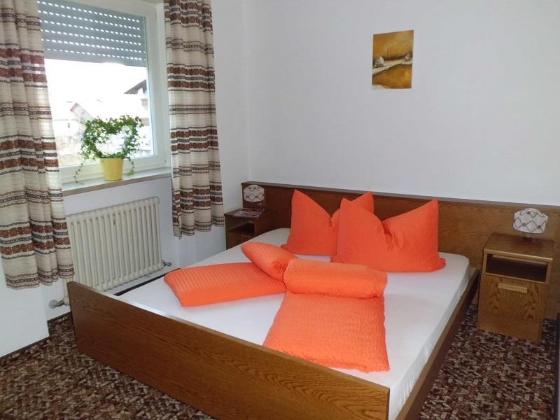 Schlafzimmer im Appartement Margerite