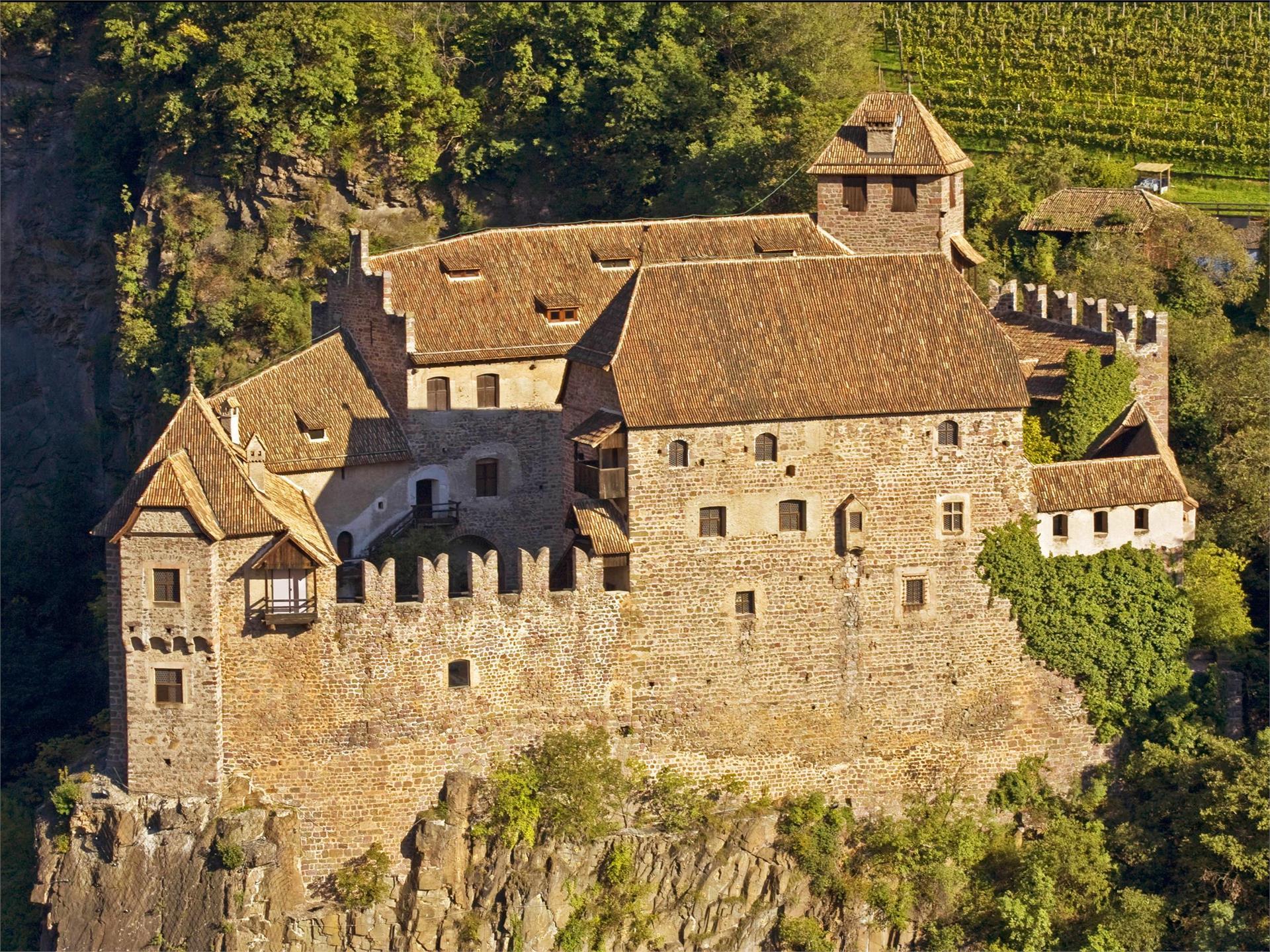 Burgenweg Schloss Runkelstein Bozen Jenesien