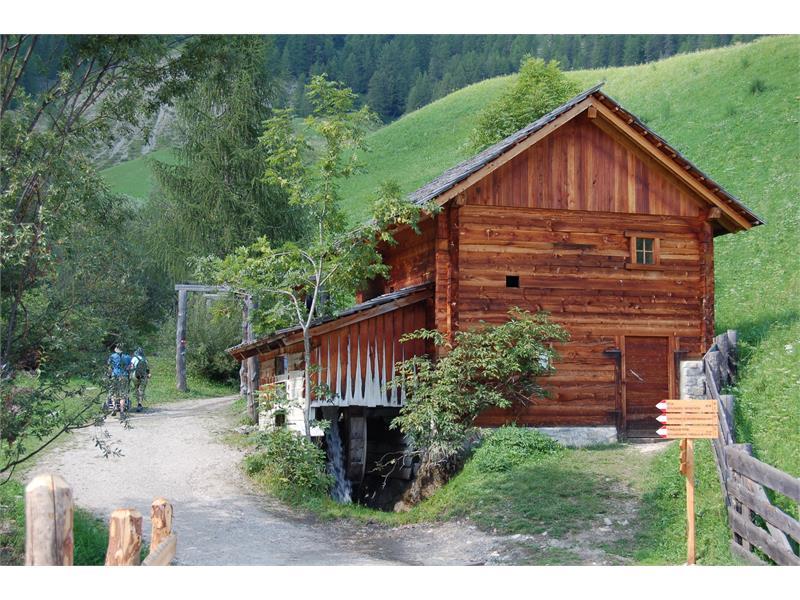 Start ins Mühlental - Val di Morins