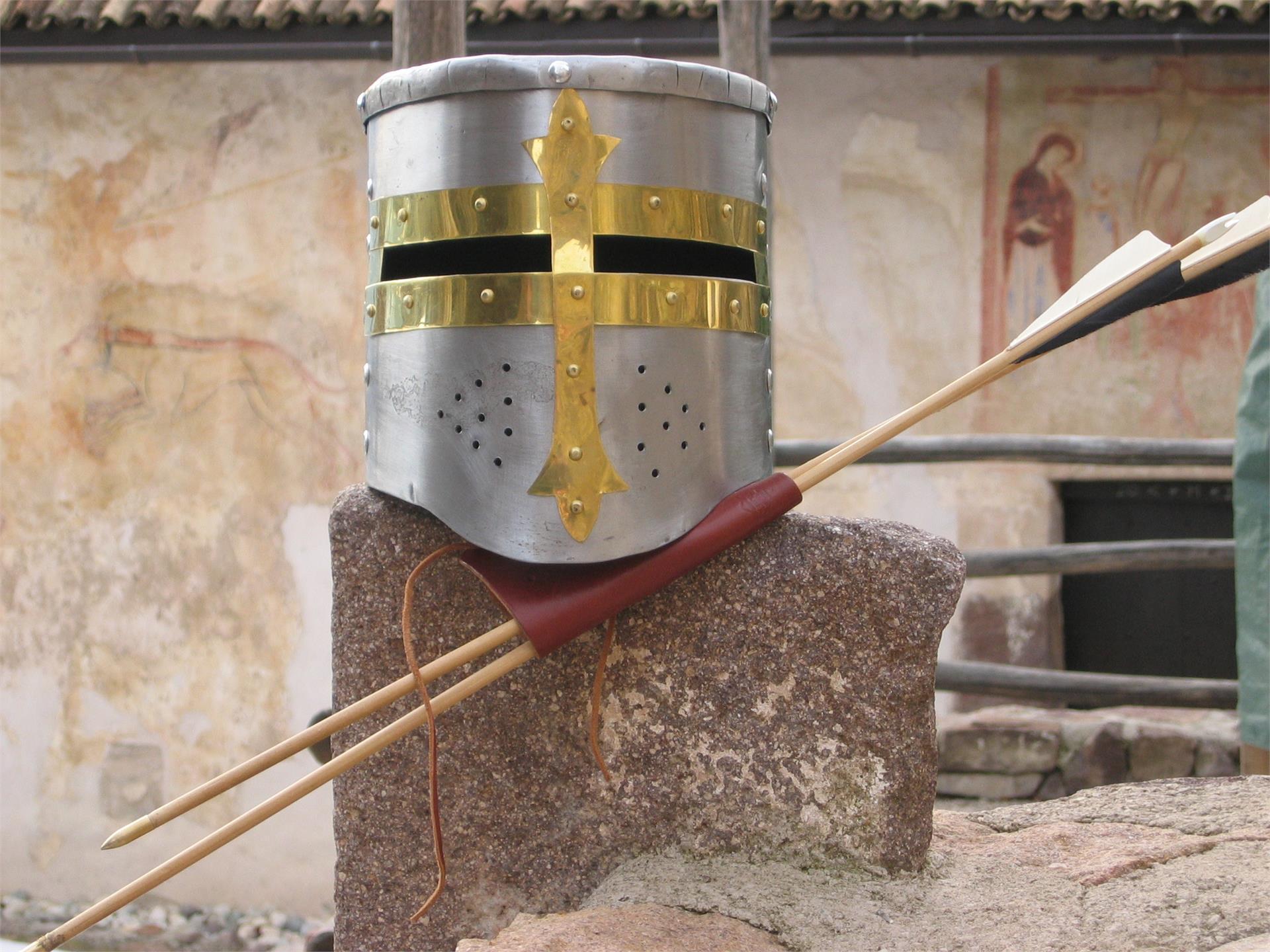 Bogenparcours auf Burg Hocheppan
