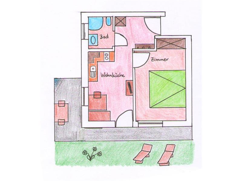 appartamento 1 - pianta