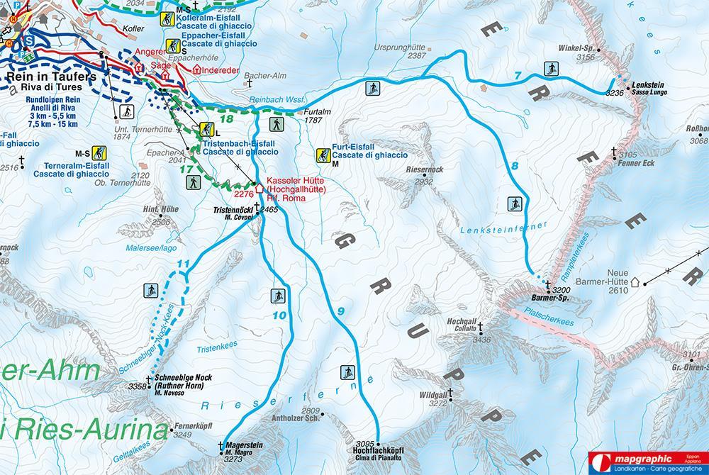 Monte Nevoso (3358 m)