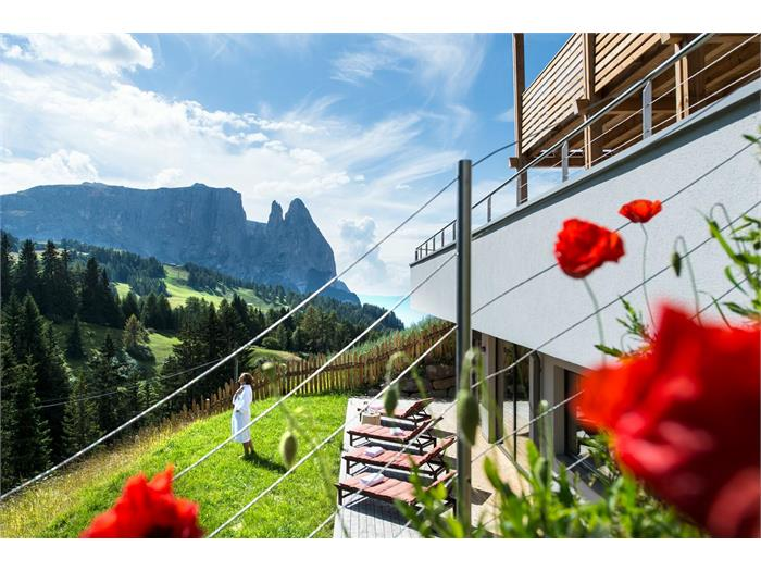 Chalet Dolomites in summer