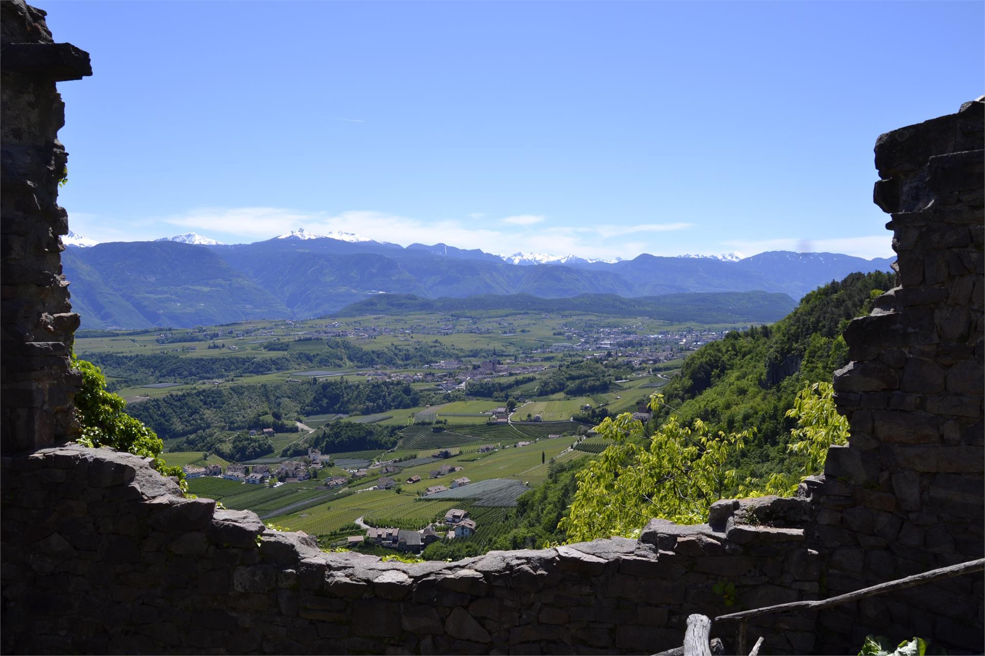 Ausblick von der Ruine Boymont