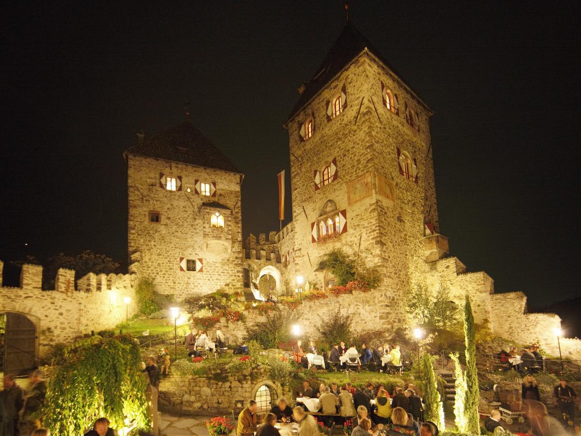Three castels in one night, Prissiano (Chestnut Festival)