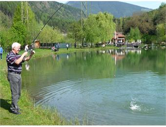 Fishing Untersee Pond in Varna/Vahrn