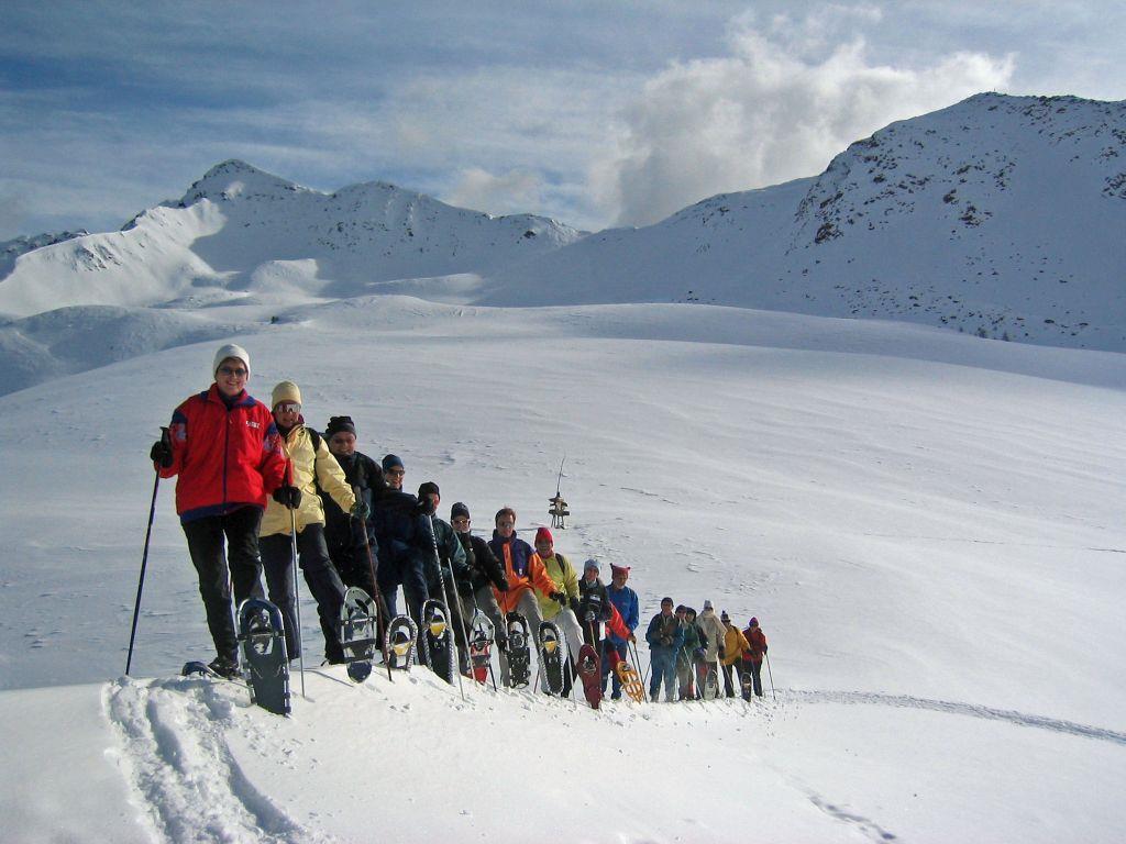 Schneeschuhtour: Kalksteinjöchl in St. Magdalena/Gsieser Tal