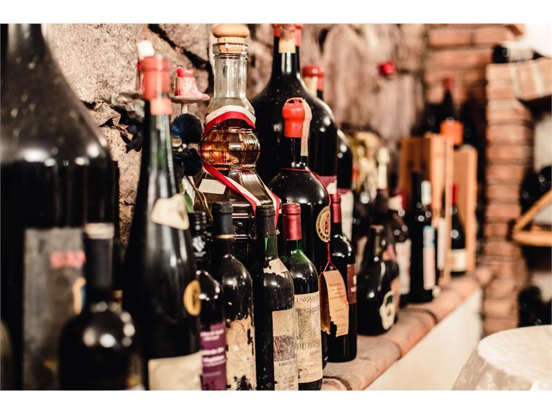 Cantina di vini all´Hotel Waldsee- Fié allo Sciliar