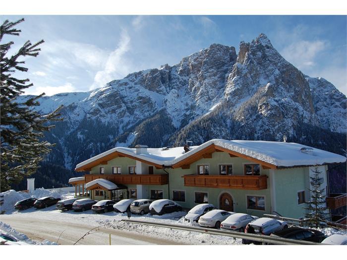 Hotel Gstatsch in the winter