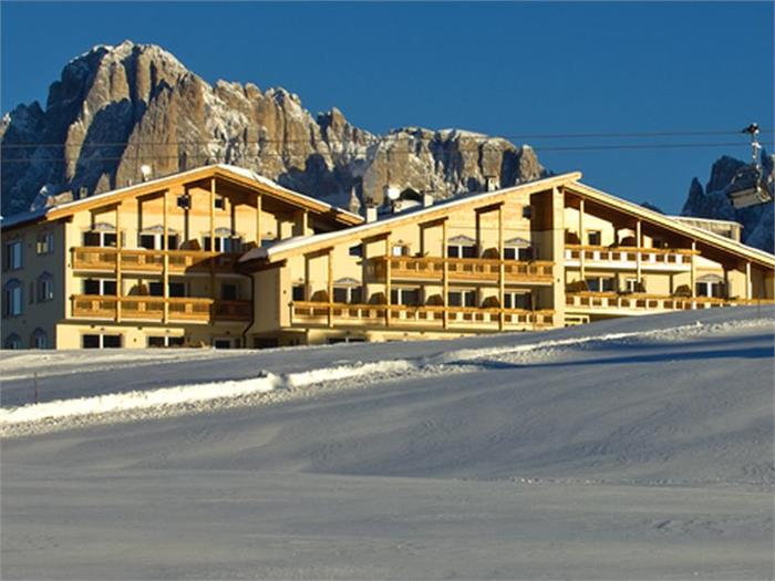Hotel Santner in winter