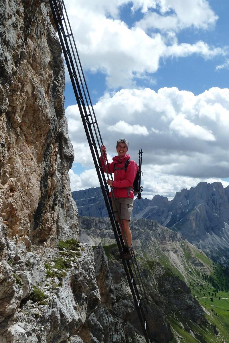 Leiter Günther-Messner-Steig