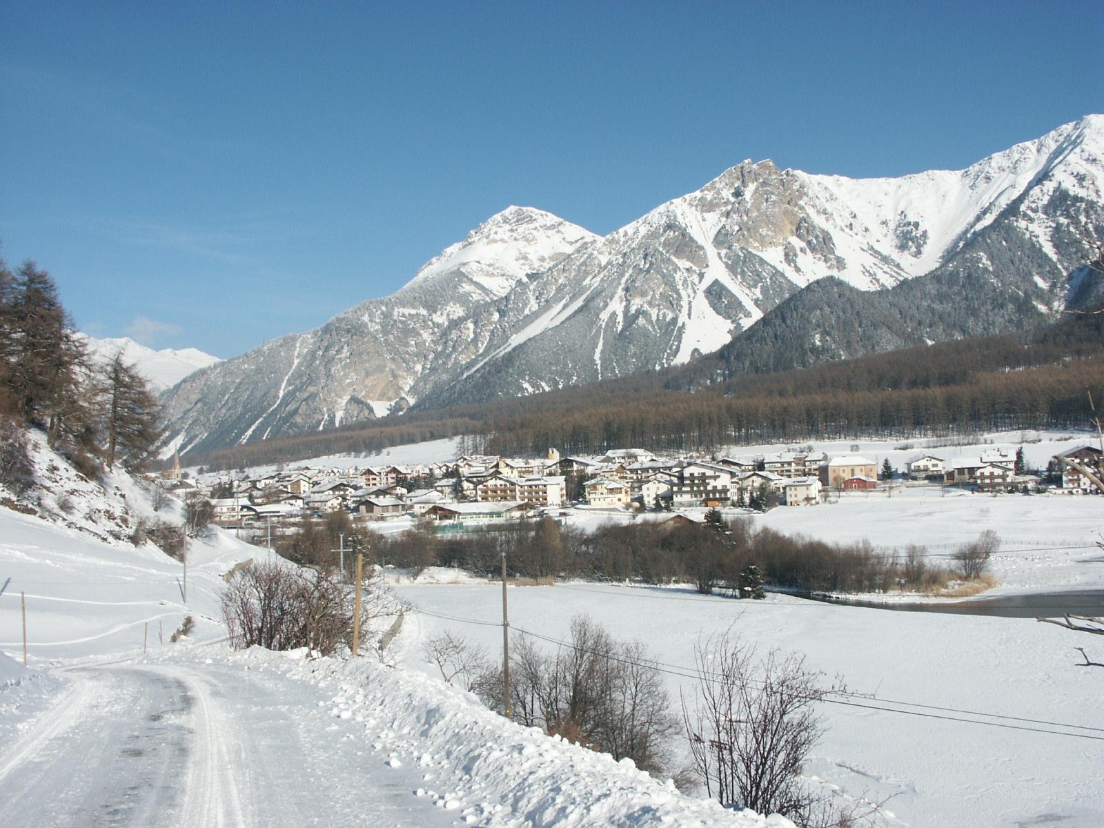 snowshoe hike to Malga Brugger/Brugger Alm