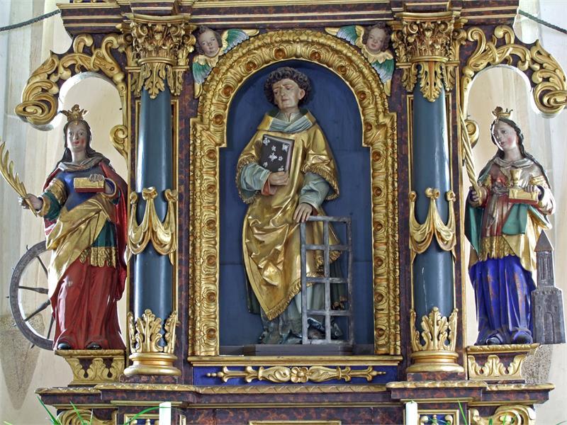 Hochaltar St. Laurentius