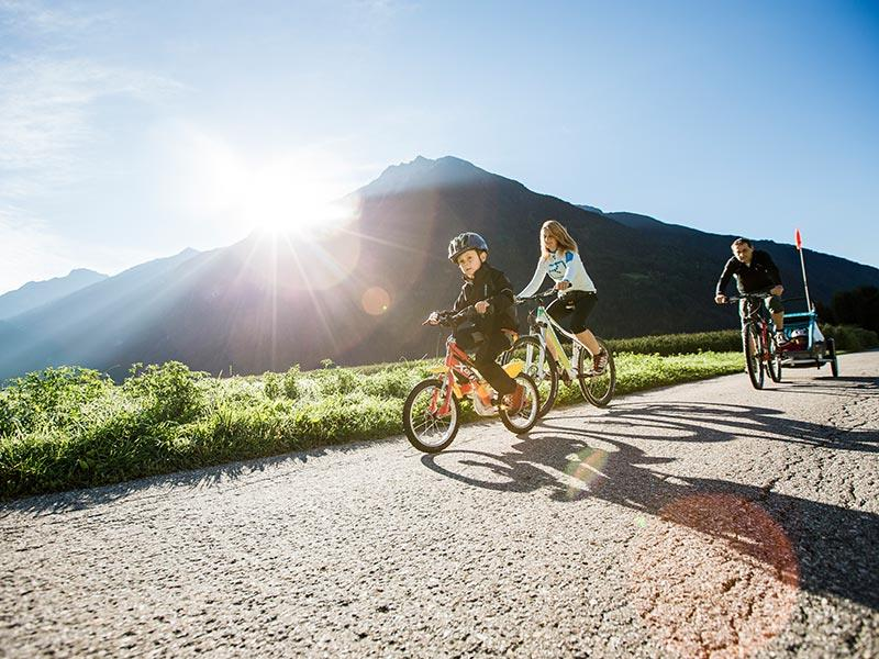 Radtour Sand in Taufers Bruneck