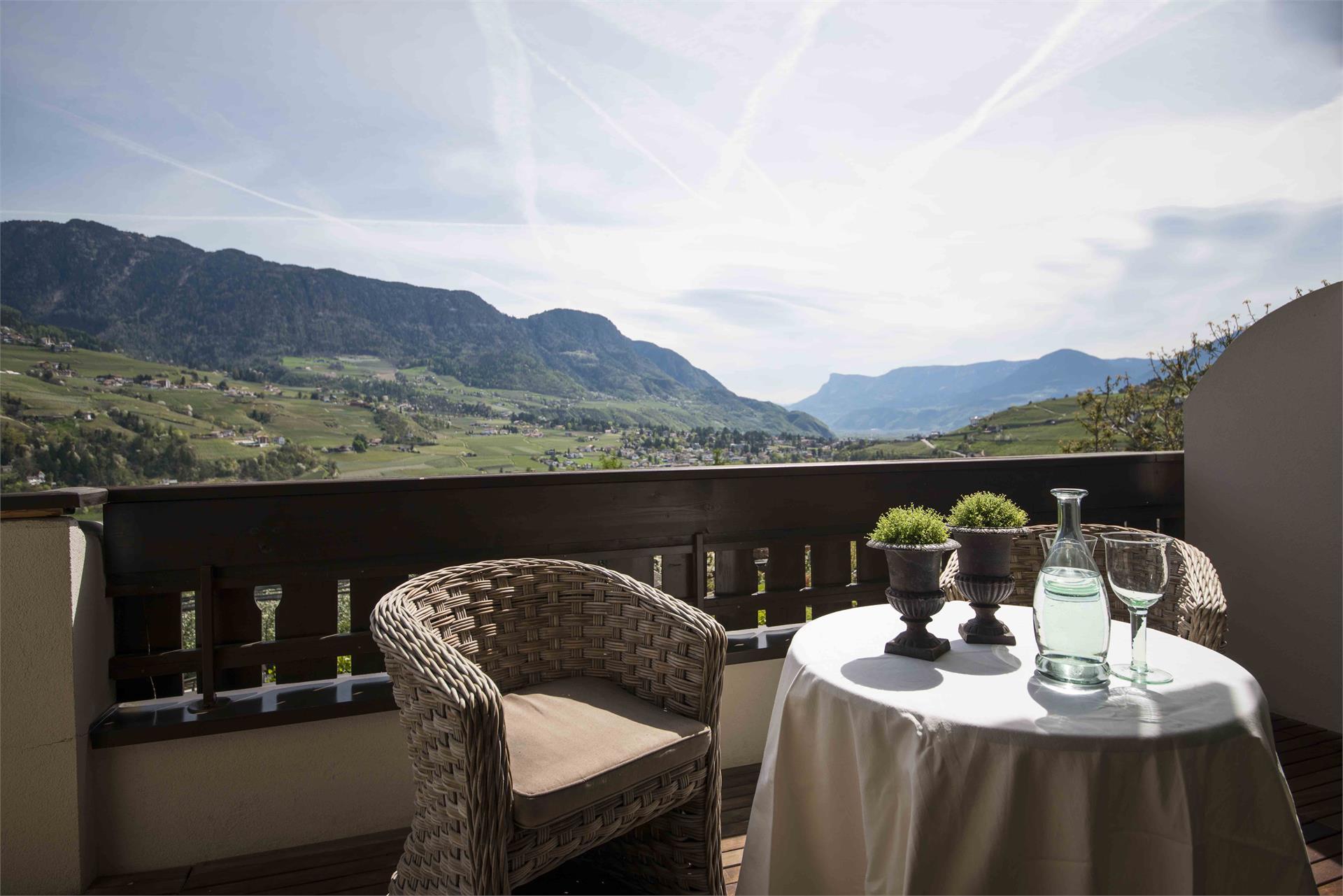 panoramicview to Merano and Schenna