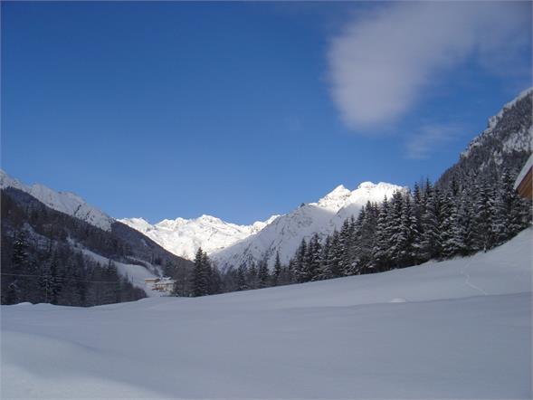 Weißwandspitz und Feuersteingletscher im Winter