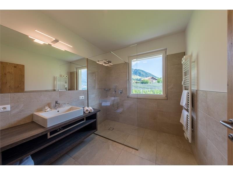 bagno della camera doppia panorama