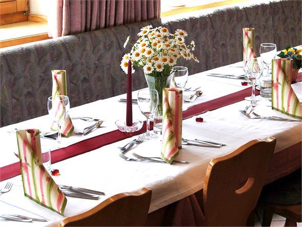 Gasthof Alpenrose Speisesaal