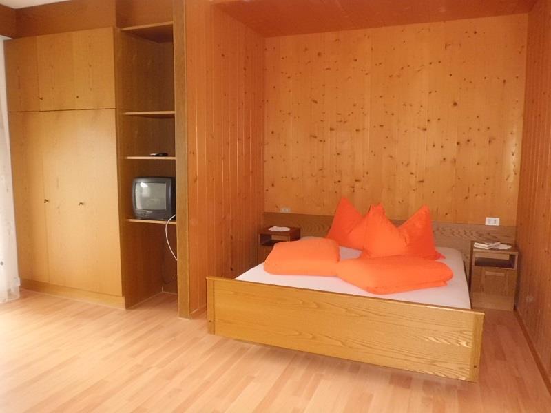 gemütliche Schlafecke im Appartement Enzian