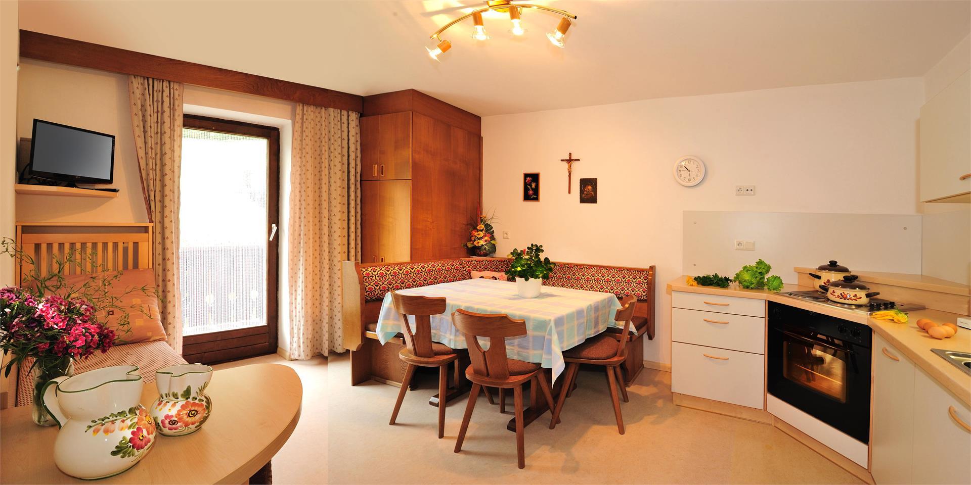 Saxlhof Küche Wohnbeispiel