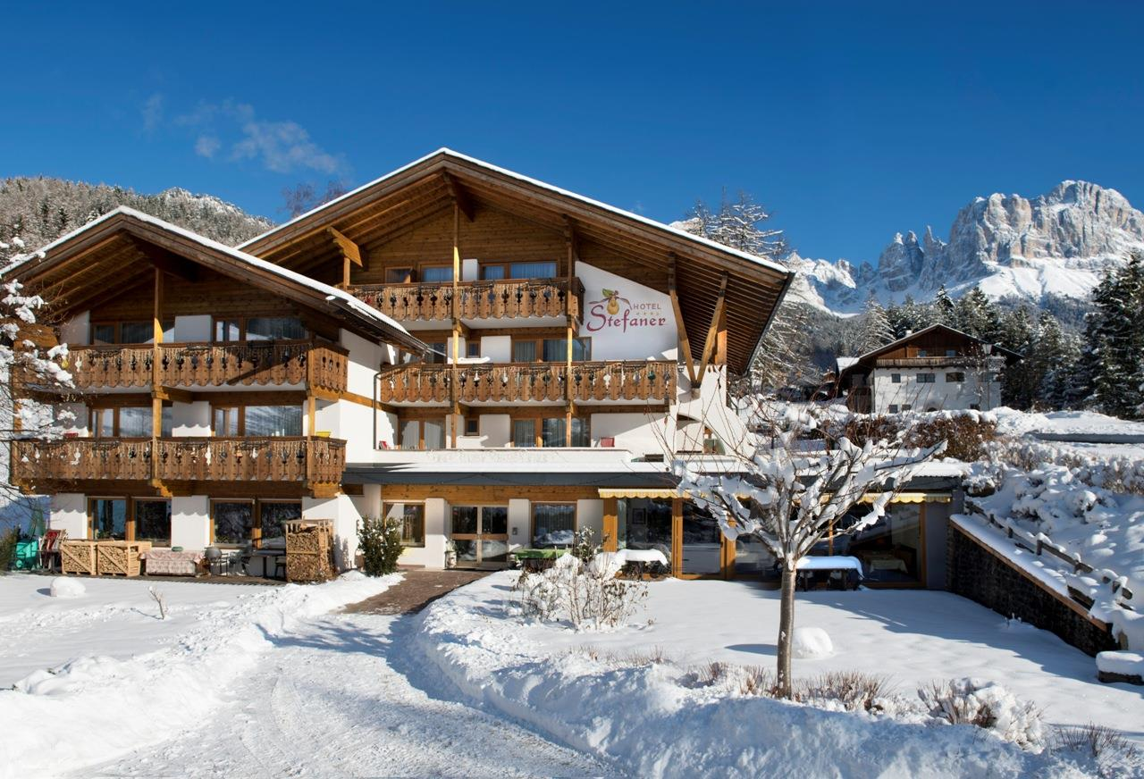 Hotel Stefaner im Winter