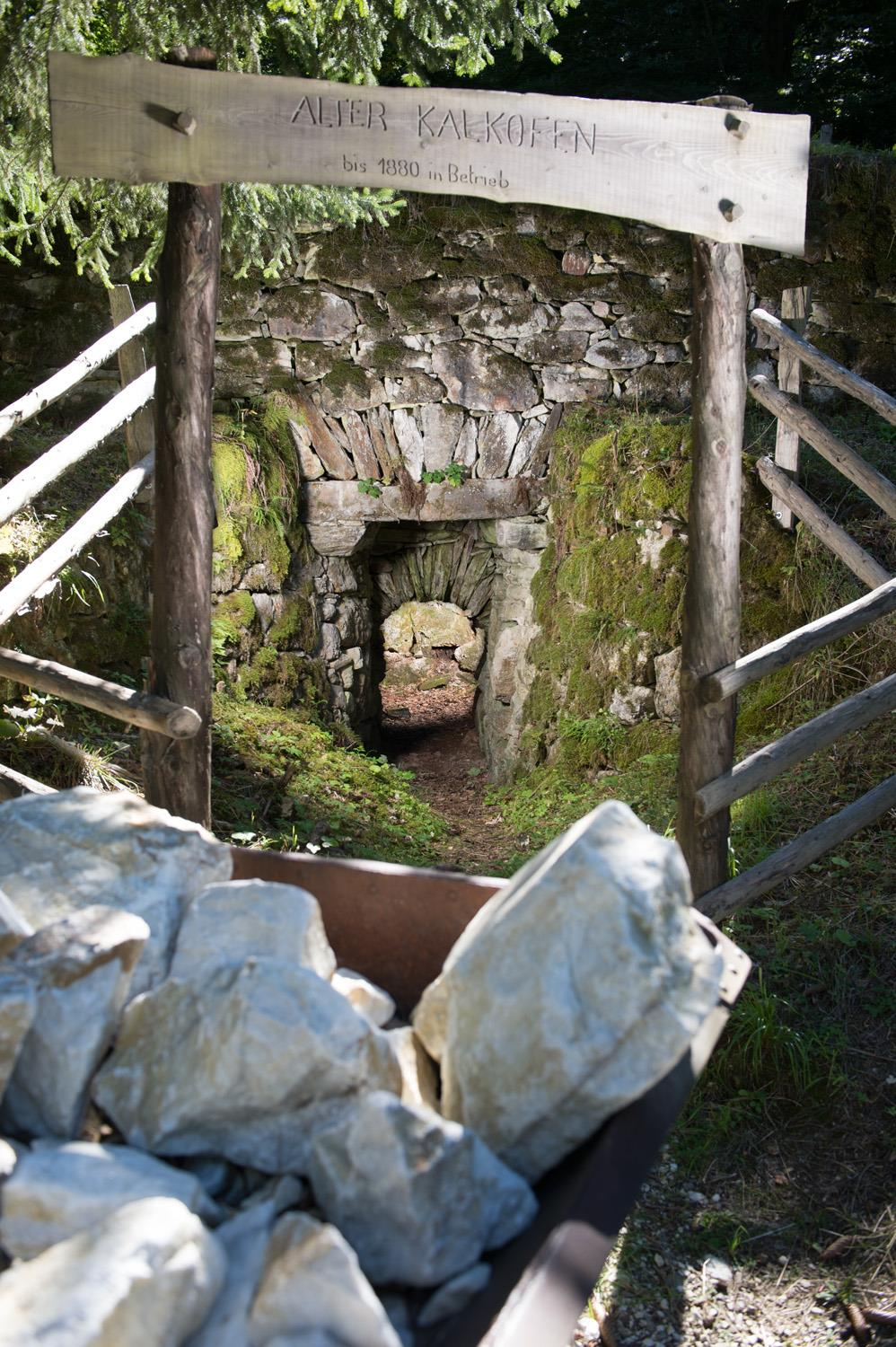 Lime kilns at Quadrat