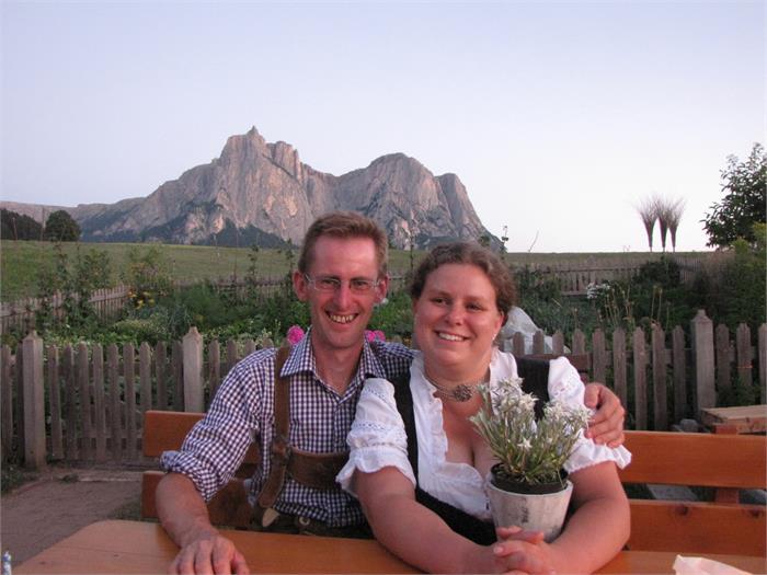Valentin und simone- Hieblerhof, Völs am Schlern