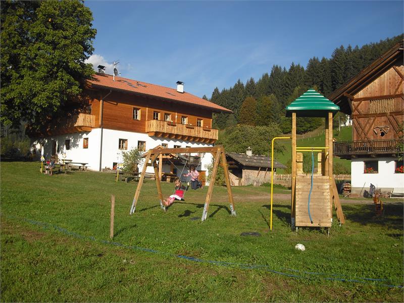 Parco giochi sul Bacherhof