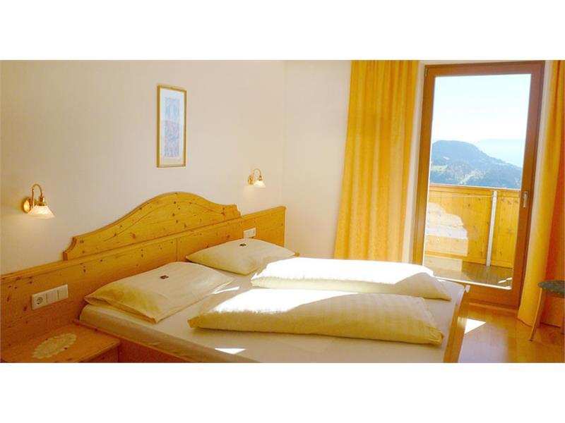 La camera da letto in appartamento
