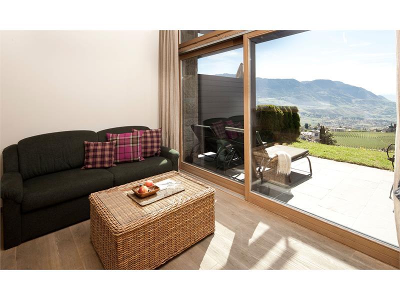 Double room with south-facin terrace