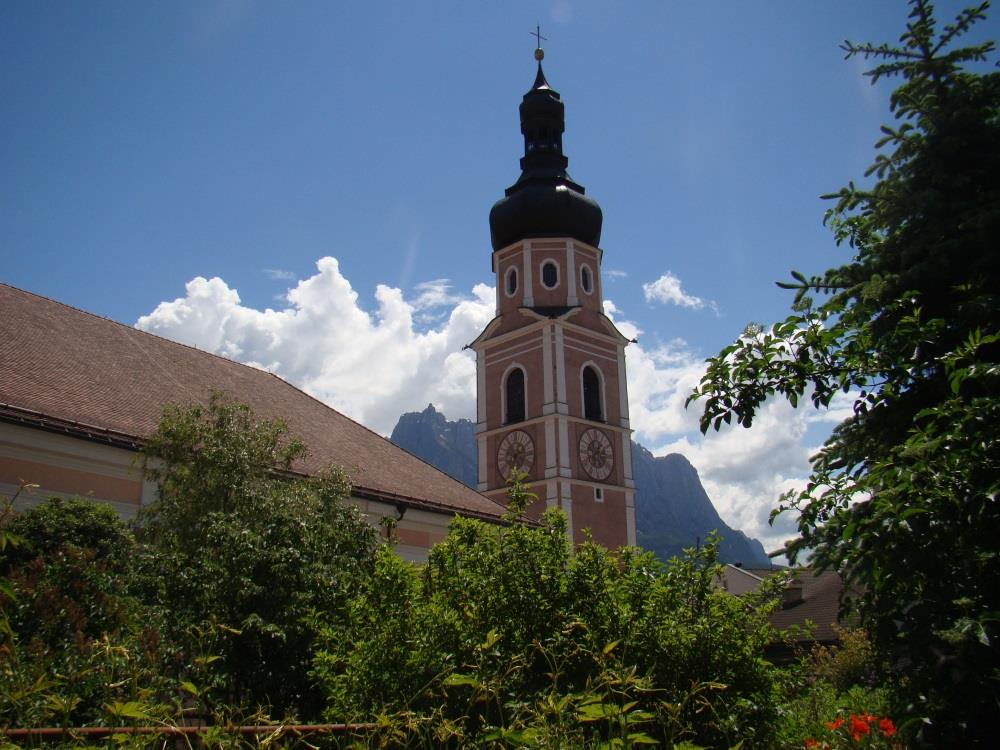 Church steeple of Castelrotto/Kastelruth