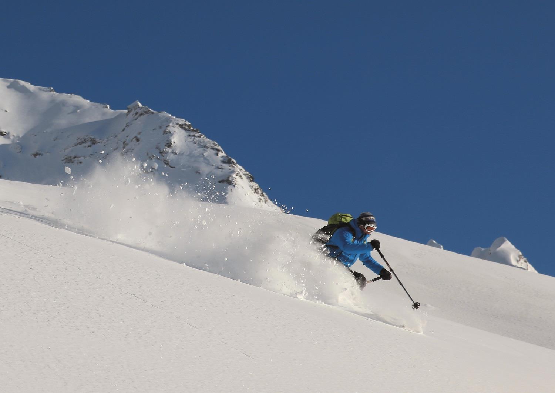 Sci alpinismo alla Punta Rossa