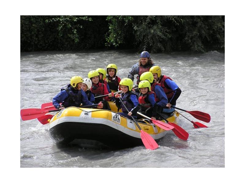 Children - rafting