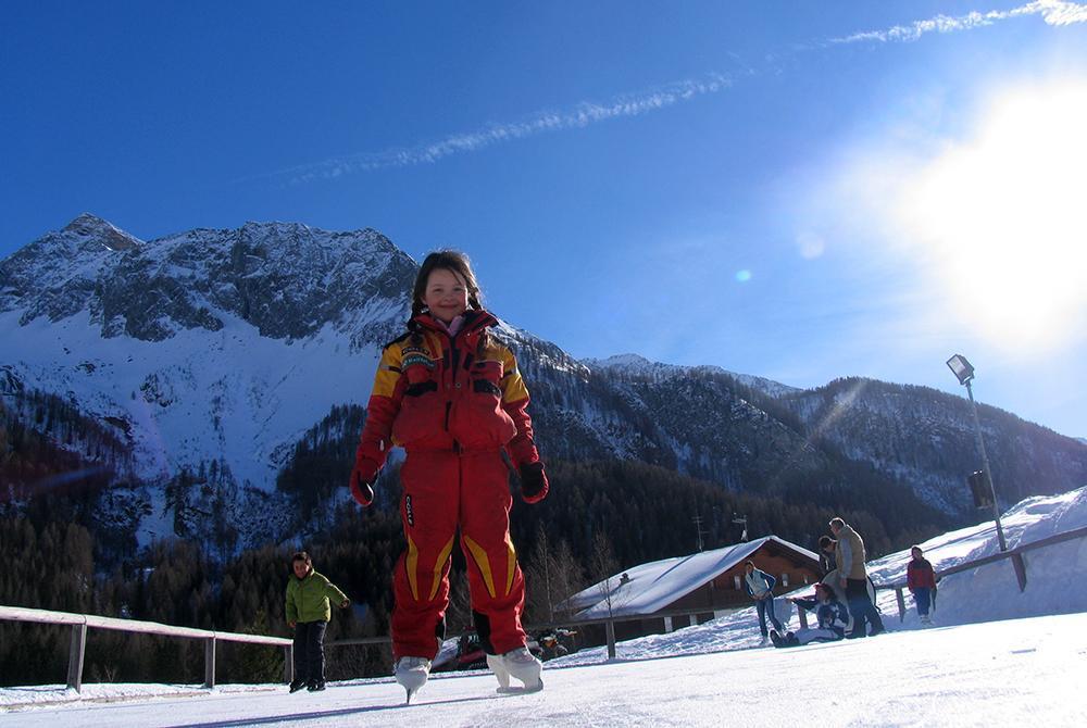 Nature ice rink Predoi-Prettau