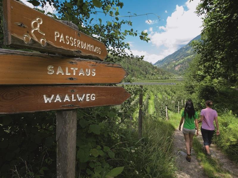 Wanderung Saltauser Waalweg