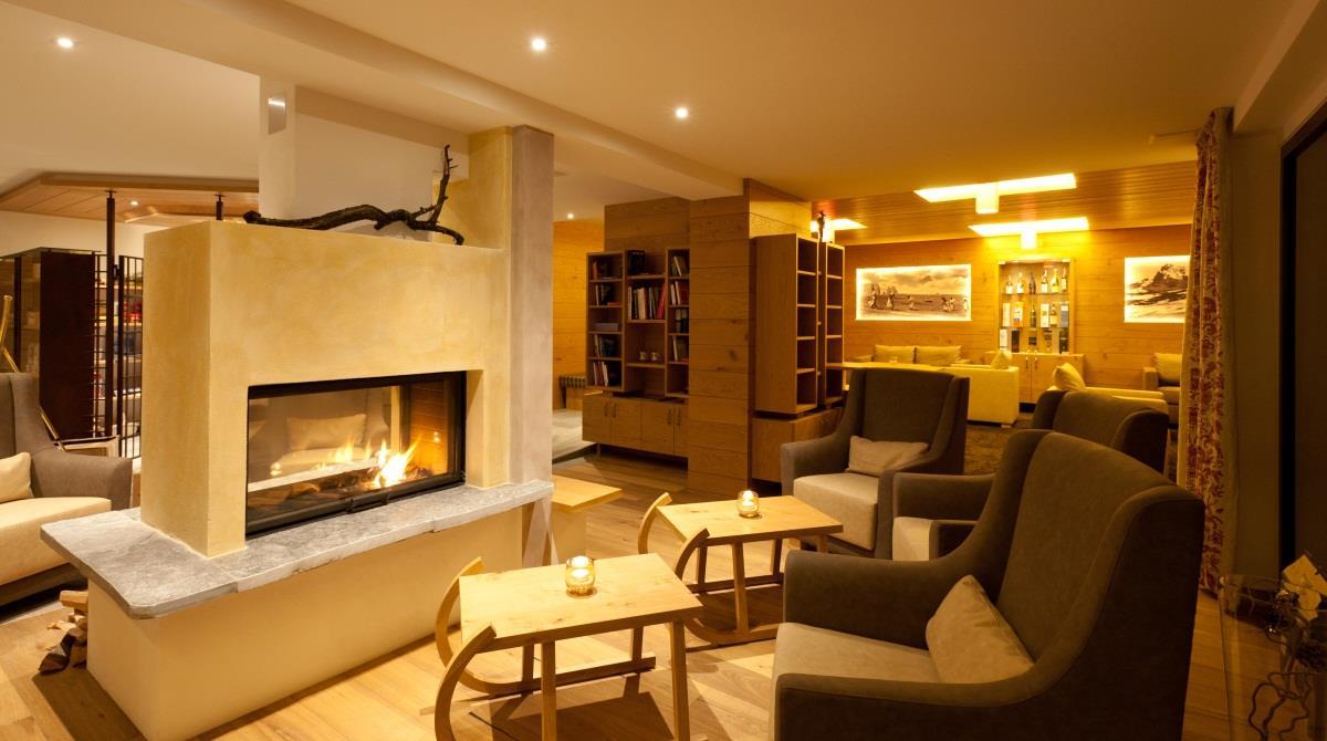 Kaminfeuer - Lounge