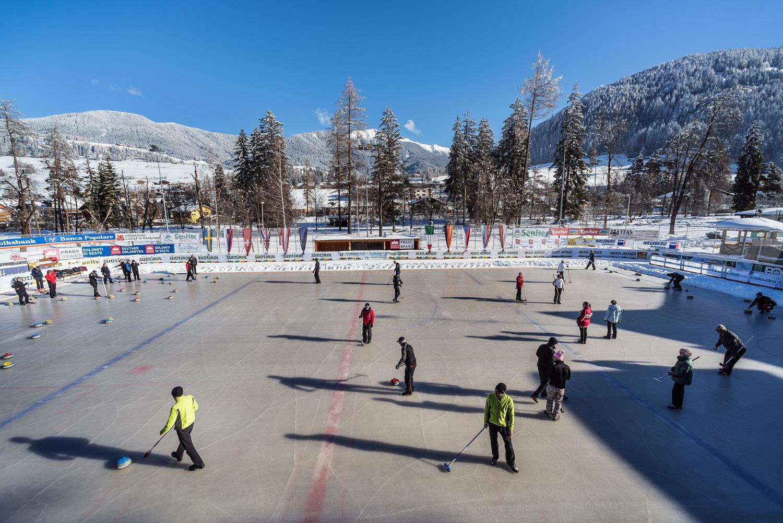 Artificial Ice Rink Parco Prenniger