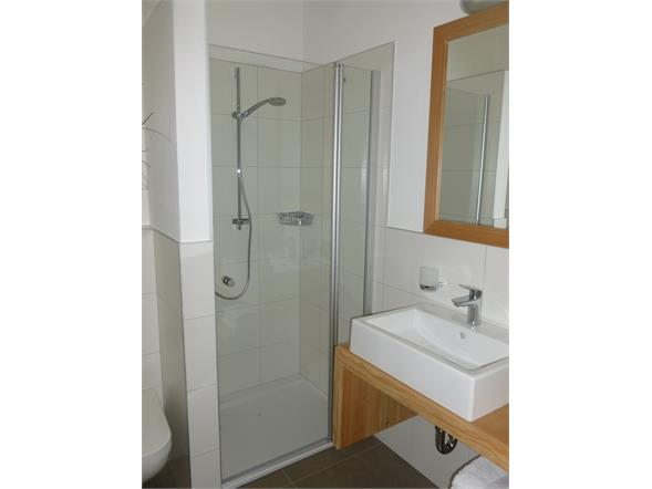 apartment Karin - bathroom with shower and WC