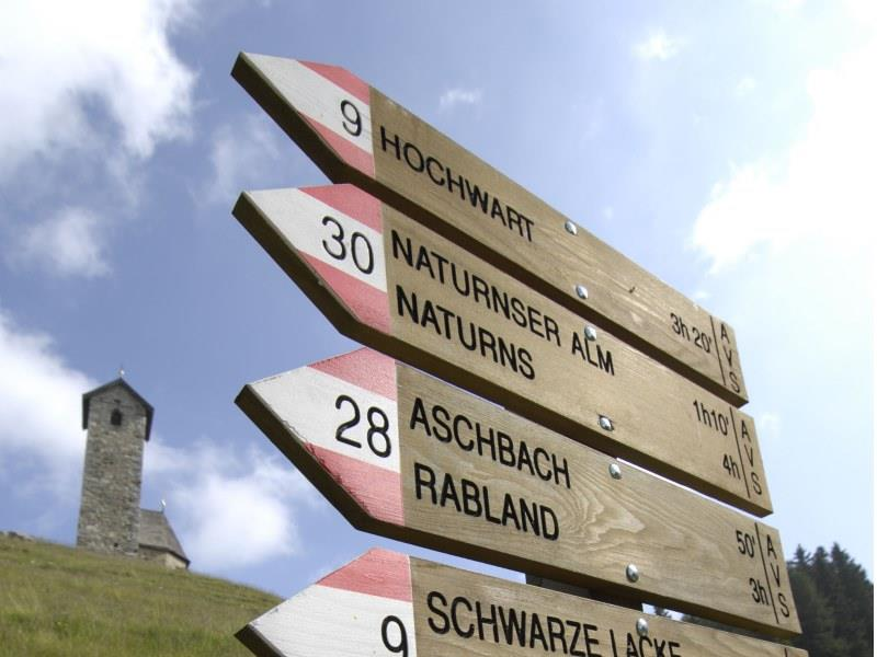 From Vigiljoch to the Naturnser Hochwart