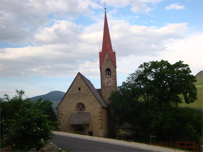 The Church of St. Ingenuin and Albuin in Saubach