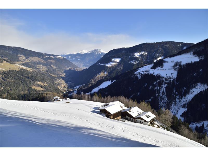 Winterurlaub auf dem Obereggerhof