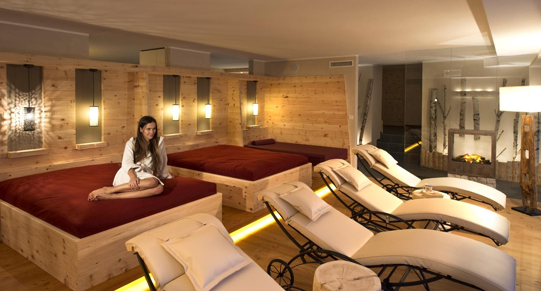 Zona relax nel reparto wellness- Residence Konstantin, Fié allo Sciliar