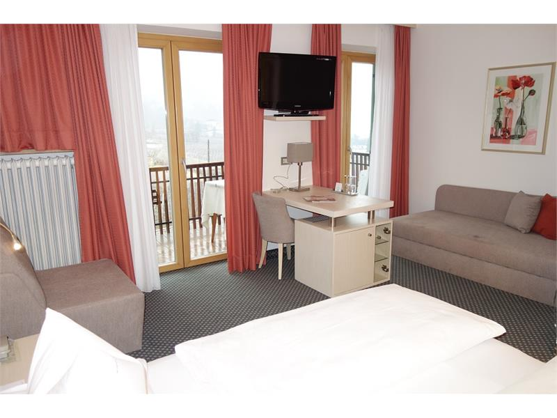 North facing double room