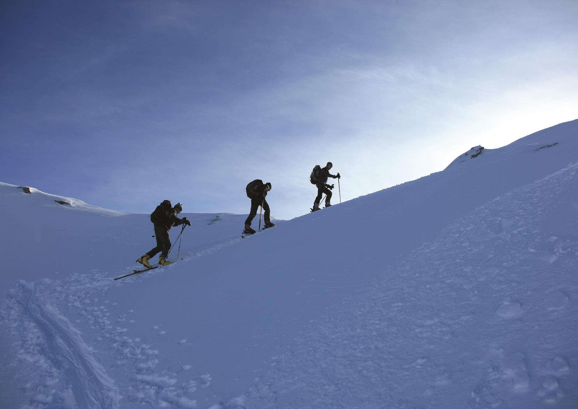 Gampen – Rossgruben – Schartl Ski Tour