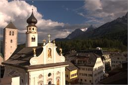 The San Michele Parish Church San Candido Innichen