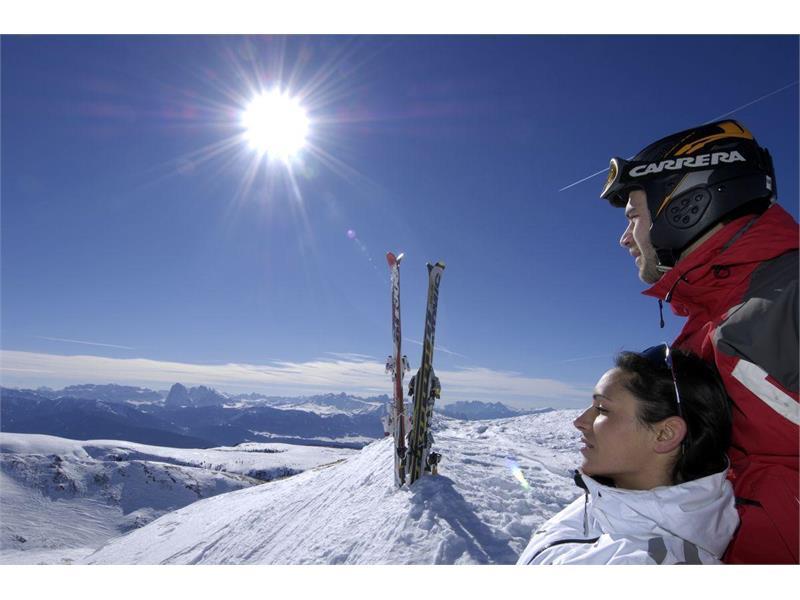 Skigebiet Reinswald, Val Sarentino, Ortlerskirarena, Alto Adige